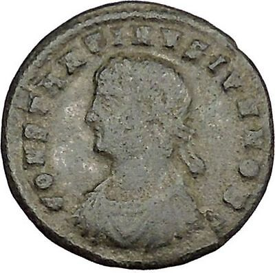 Constantine II Constantine the Great son Ancient Roman Coin Camp gate  i39199