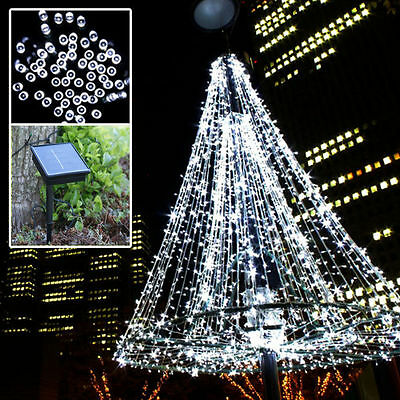 100/250/500 Led Solar Power String Fairy Lights Lighting Christmas Party Garden