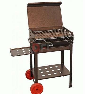 Outdoor Cooking & Eating Punctual Barbecue Polifemo A Legna Carbone E Carbonella Fornacella Bbq 40x70xh95 Cm Yard, Garden & Outdoor Living