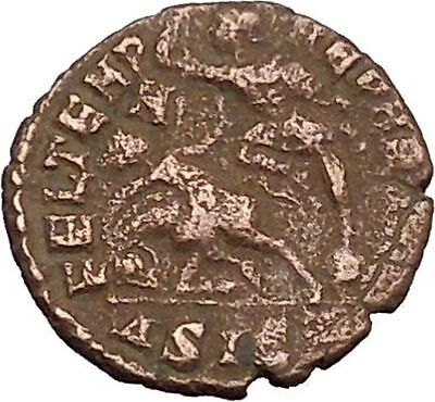 Julian II as Caesar 355AD Ancient Roman Coin Battle Phrygian  Horse man i39229