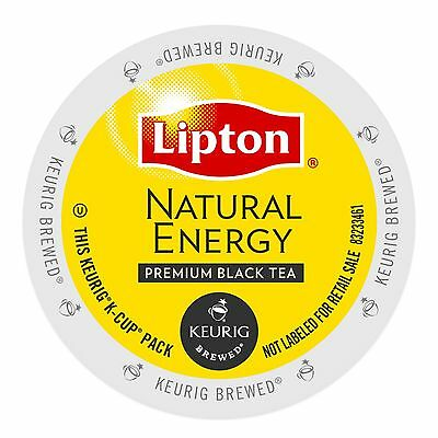 Lipton Natural Energy Black Tea Keurig K-Cups 96-Count