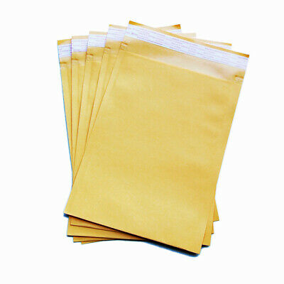 50x Premium Business Envelope Yellow 04 230x330mm A4 Laminated Paper Mailer