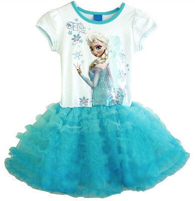 Vestito tutù Bambina  2 - 7 anni - Girl dress 2 - 7 years - Frozen - A0006
