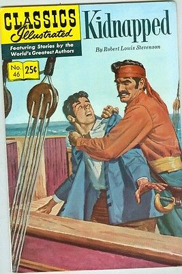 Classics Illustrated #46 Summer 1970 G Kidnapped