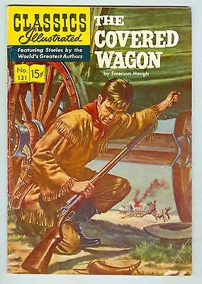 Classics Illustrated #131 March 1956 VG The Covered Wagon