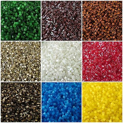 Two Cut Preciosa Czech Glass Seed Beads 9/0-10/0 20 g 30 colors