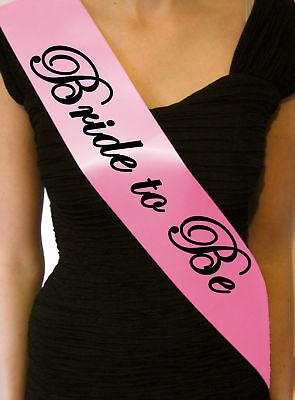 Bride To Be Hen Party Night Do Sash Sashes Accessories Game Gift Cheap Sb1056Bp
