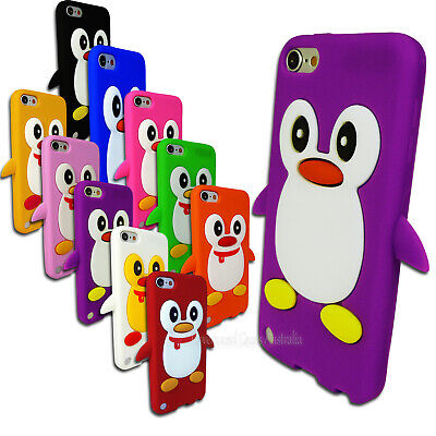 NEW Soft Penguin Case for Apple iPod Touch 5 5th GEN 5G Silicone Rubber Cover
