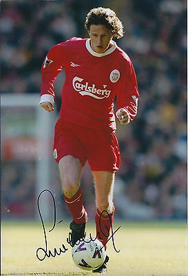 Steve McMANAMAN SIGNED 12x8 Photo Autograph LIVERPOOL Legend AFTAL COA
