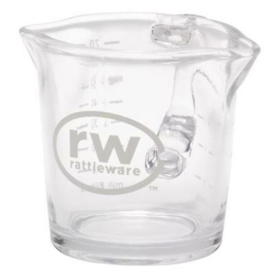 Rattleware - 27610 - 3 oz  Glass Spouted Pitcher