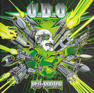 U.D.O. - Rev-Raptor [Digipak] +2 Bonus, +2 Video CD, 2011 AFM Brand NEW Sealed