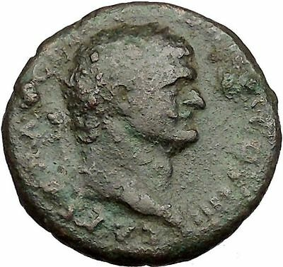 DOMITIAN son of Vespasian Large Ancient Roman Coin Spes Hope Cult  i39463