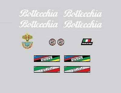 Stickers Transfers Bottecchia Professional Bicycle Decals Set 671