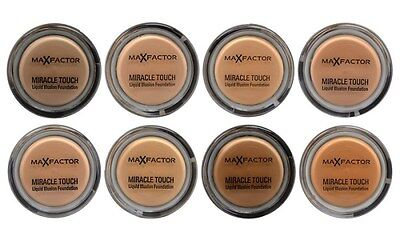 Max Factor Miracle Touch Liquid Illusion Foundation World Wide Free Postage