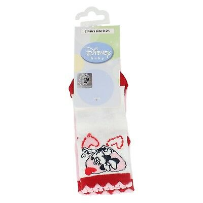 PACK OF 2  Disney Baby Minnie Mouse socks
