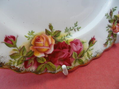 """Royal Albert Old Country Roses, 6 X 6.25in""""  plates, 1962  (A) first quality"""