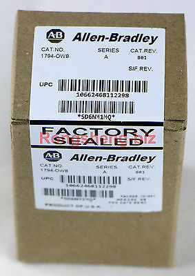1PC AB Allen Bradley 1794-OW8 Flex 8 Point Relay Output Module1794OW8 New In Box