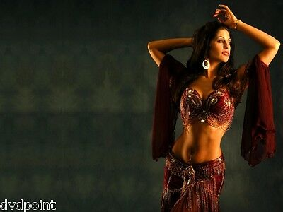 Step By Step Learn To Belly Dance Dvd For Muscle Toning Workout Weight Loss Etc