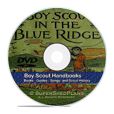 Classic Boy Scout Handbooks, Novels, Books, Magazines, Songs, 360+ DVD V43