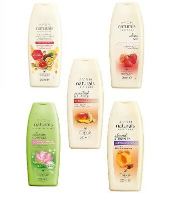 Avon Shampoo & Conditioner-Naturals 2 in 1 - 2in1 for healthy looking hair 250ml