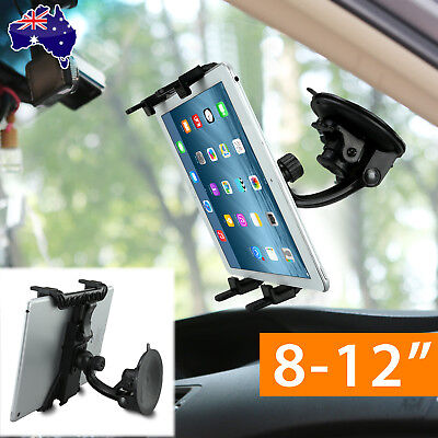 Car Windscreen Mount Holder for iPad Pro Mini Air Samsung Galaxy Tablet PC 8-12""