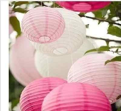 "5 or 10 pieces OF 8"" 10"" 12"" Chinese Paper Lantern Wedding Party Decoration"