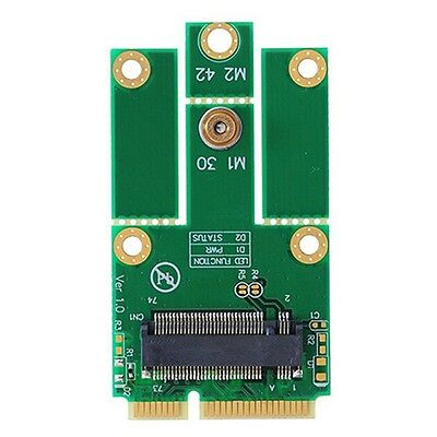 M.2 (NGFF) WiFi+Bluetooth 4.0 card to mini PCI-e(USB) Adapter for Intel 7260NGW