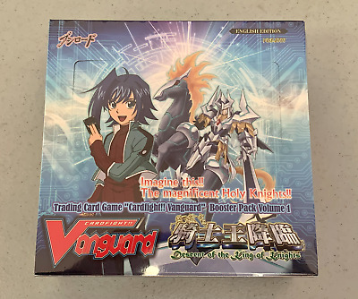 Descent of the King of Knights Booster Box Cardfight Vanguard Vol 1 ENGLISH New