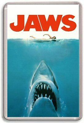 Jaws Fridge Magnet