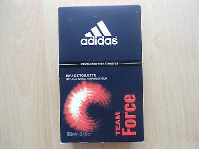 Adidas Team Force Profumo Uomo Edt - Eau De Toilette 100 Ml