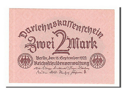 [#154974] Germany, 2 Mark type 1920, Pick 62