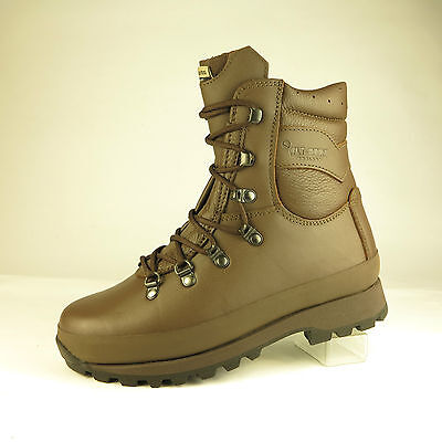 Altberg Warrior AQUA Microlite MK11 -  MoD Brown Military Boots