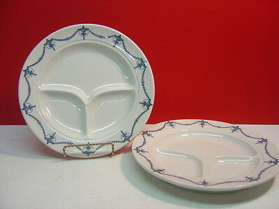 Shenango China OLD MARK Chandelier/Urn? Two Grill Plates