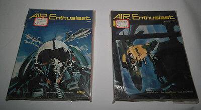 Vintage Rare Lot Of 12 Air Enthusiast Magazine Complete Volumes 1 And 2 1971-72