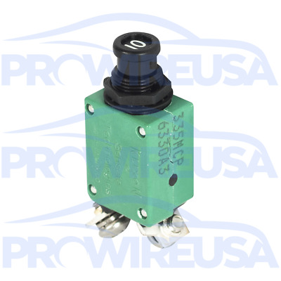 Klixon 2TC2-10 Circuit Breaker 10 Amp Aviation Mil Spec MS3320-10 Motec Nascar