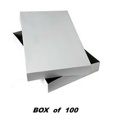 Shirt White Clothes Boxes Gift Package Apparel Clothing Box (125 per Case)