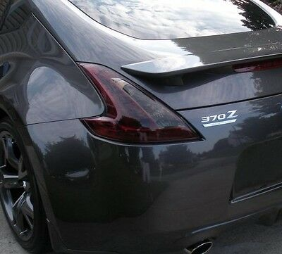 09-16 Precut Smoke Tint Cover Smoked Overlays For 370Z Tail Light