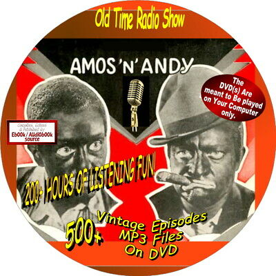 Amos and Andy-700+ Old Time Radio Shows (COMEDY/HUMOR)-Audiobook on DVDs, MP3