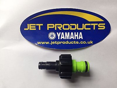 Yamaha Outboard Engine / Jetski Flush Fitting inc Quick Release for Garden Hose