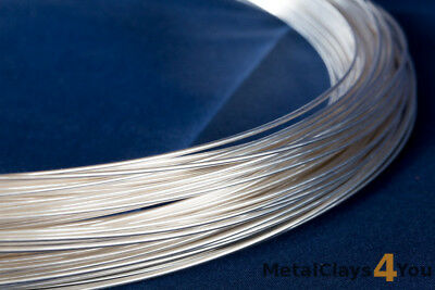 Sterling Silver Filled Round Wire 1/10 (Soft) 0.5mm to 2.59mm -  Wire Craft