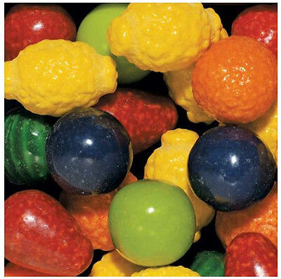 100 SEEDLING FRUIT Dubble Bubble GUMBALL candy filled gum ball dubble vending