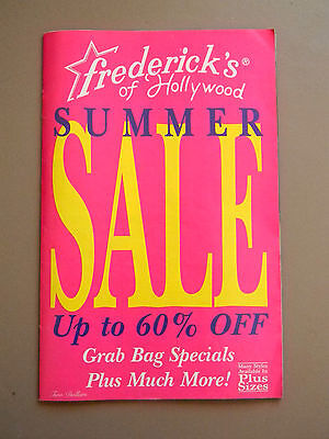 Frederick's of Hollywood Catalog - No 323-232- 1997- Sexy Clothes/Lingerie