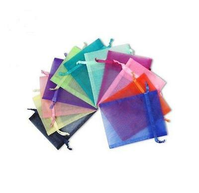 Various Colour + Mixed Sizes Organza Party Wedding Jewellery Favour Gift Bags