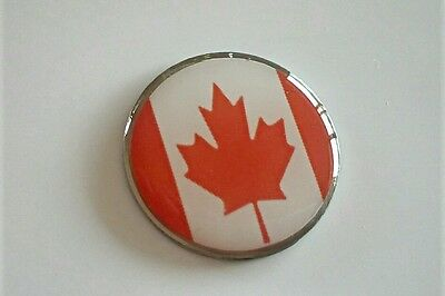 anneys - golf ball marker -  ** canadian flag ** .