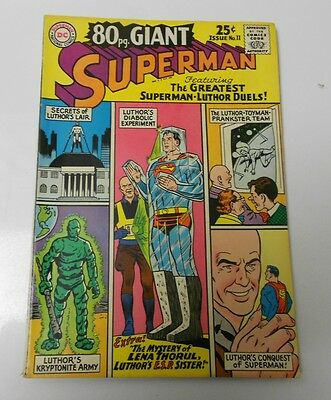1965 80 PAGE GIANT #11 Superman vs Lex Luthor FN+
