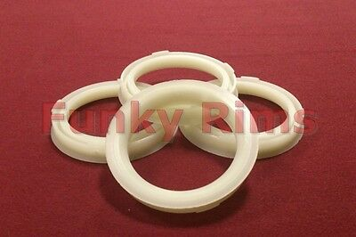 Spigot Rings for Aftermarket Alloy Wheels 73.1mm OD 56.1mm BMW MINI Cooper One
