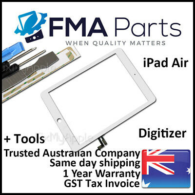 iPad Air 9.7 2017 White Front Glass Touch Screen Digitizer Lens Replacement Tool