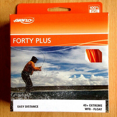 Airflo FORTY PLUS (40+) Extreme Super Dry Weight Forward Fly Fishing Line NEW
