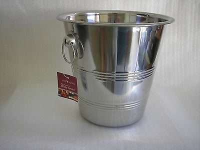Wine/Champagne/Soda Cooler Stainless Steel  Free Superfast Delivery!