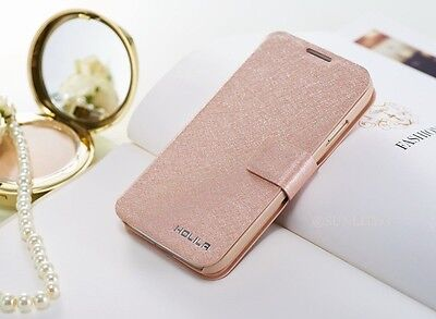 LUXURY SLIM WALLET PU Leather flip case cover for iPhone Samsung Galaxy Phones